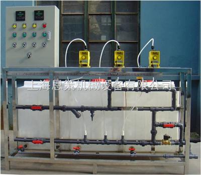 ECCT-200P-3P-AM恩策小型循环水加药装置