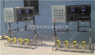 ECCT-1000P-4P-AM小型循环水加药装置