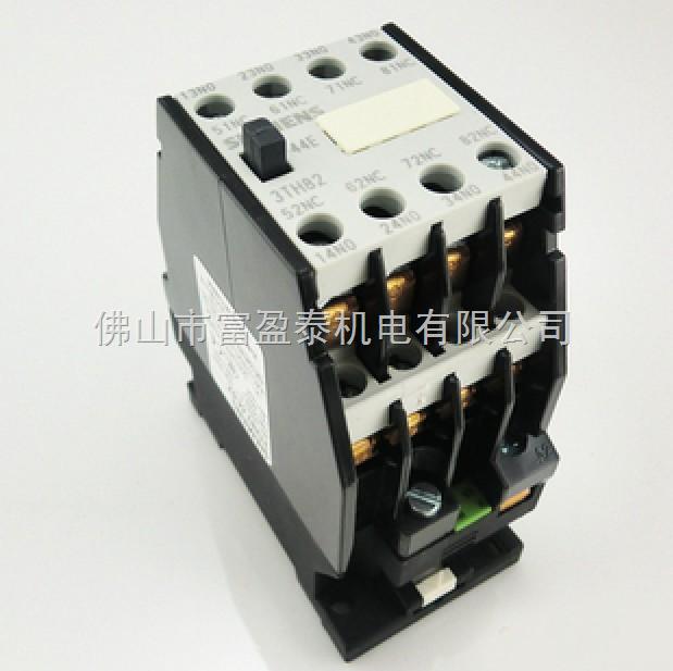 3TH系列中间继电器,适用于交流50Hz或60Hz,电压至660V和直流电压至600V的控制电路中,用来控制各种电磁线圈及作为电信号的放大和传递,符合 IEC947, VDE0660,GB14048等标准。 优点:  继电器采用E形铁心,双断点桥式触头系统的直动式运动结构,动作可靠;  3TH40,80有四对触头可组合; 3TH42,82有八对触头可组合; 3TH30 可接插辅助触头座(3TX4),可自由组合;  继电器动作机构灵活,手动检查方便,结构设计紧凑,可防止外界杂物及灰尘落入继电器的活动部位