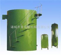 竖流式溶气气浮机装置