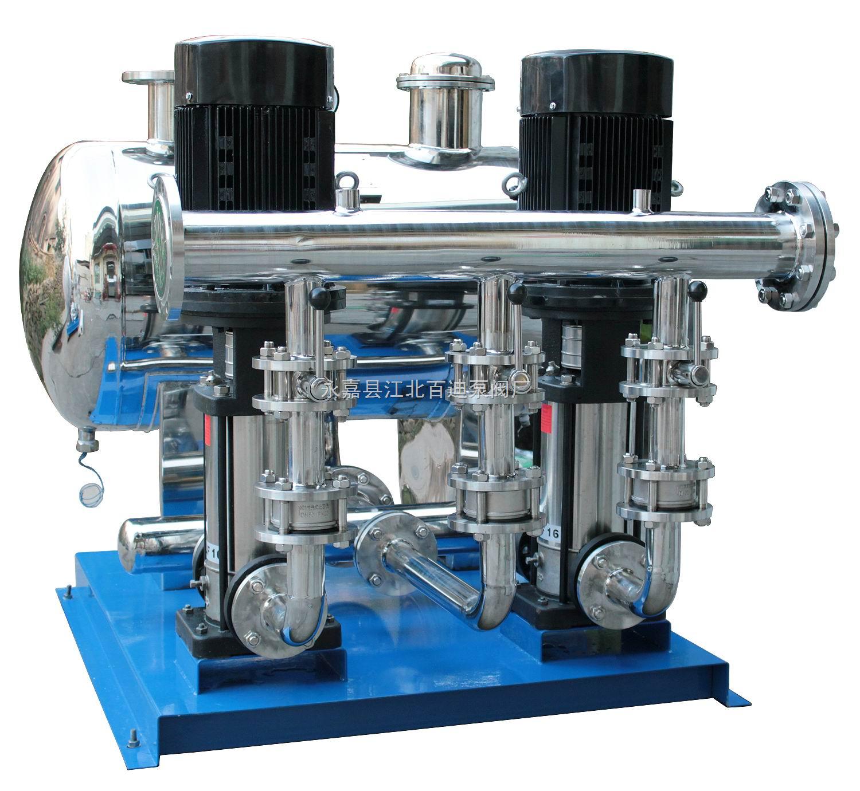 wb型无负压给水设备工作原理&nbsp