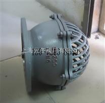 H42H-16C,H42W-25C铸钢法兰底阀,水泵单向阀