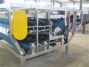 帶式汙泥脫水機的特點機主要的技術參數