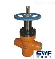 ZF63Y對接焊高壓平板閘閥
