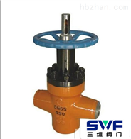 ZF63Y对接焊高压平板闸阀