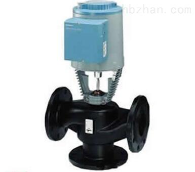 西门子电动二通调节阀,进口比例积分调节阀图片