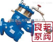 過濾活塞式可調減壓流量控製閥
