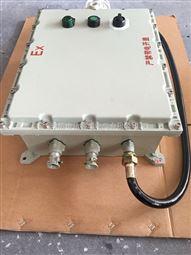 BXK-T防爆控制箱,隔爆型按钮开关电源箱配防爆声光报警器