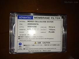 0.2umADVANTEC混合纤维素滤膜A020A047A现货