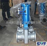 郑州常闭型气动管夹阀-GJ6B41X
