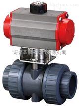 Q611S气动PVC球阀