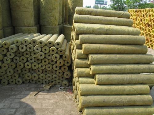 A级岩棉保温管 高密度岩棉 九纵厂家供应