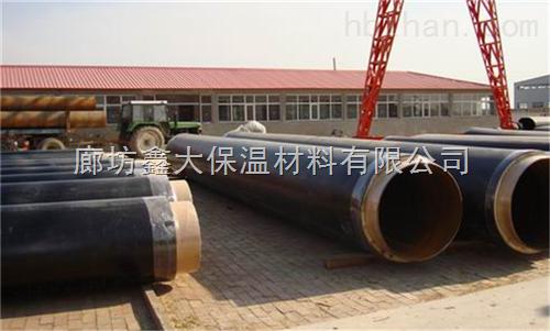 聚乙烯直埋保温管道施工
