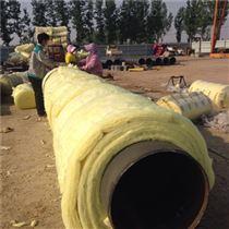 預製玻璃棉複合蒸汽聚氨酯保溫管興安廠家