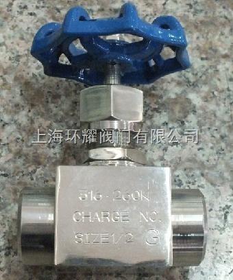 供应j11w-40p针型阀图片