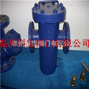 WCB碳钢蓝式过滤器DN65-100
