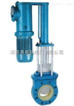 PZ273聚氨酯电液动刀型闸阀
