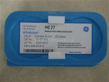Whatman沃特曼10400914混合纤维素膜50mm直径ME27无网格0.8um