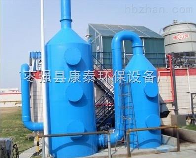 玻璃钢洗涤塔结构及原理