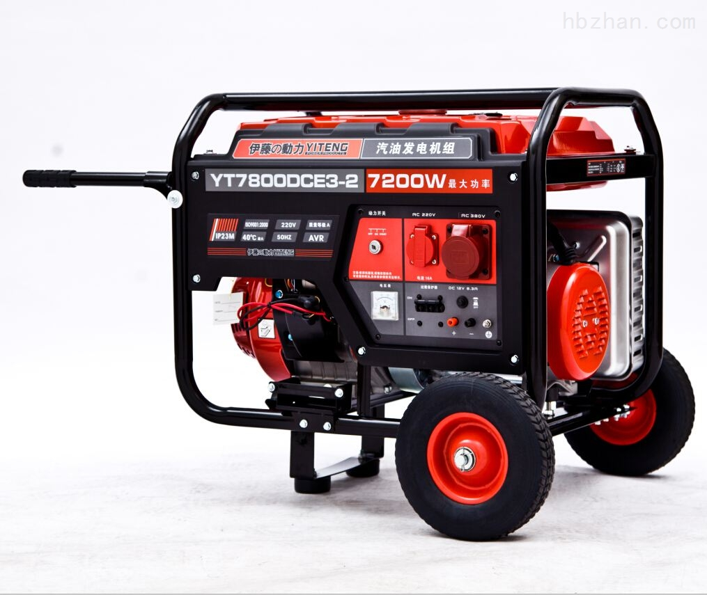 伊藤发电机新款7KW三相汽油发电机