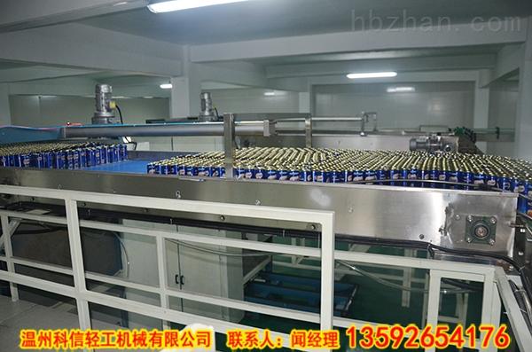 易拉罐装猴菇饮料加工流水线|9000罐猴头菇饮料制作