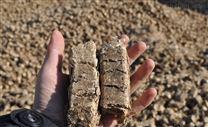 新野生物质花生壳压块燃料
