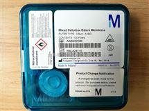 MF-Millipore表面滤膜黑色网格25mm直径0.8um孔径AABG02500