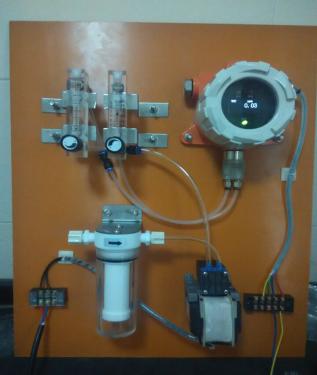 气泵继电器接线图