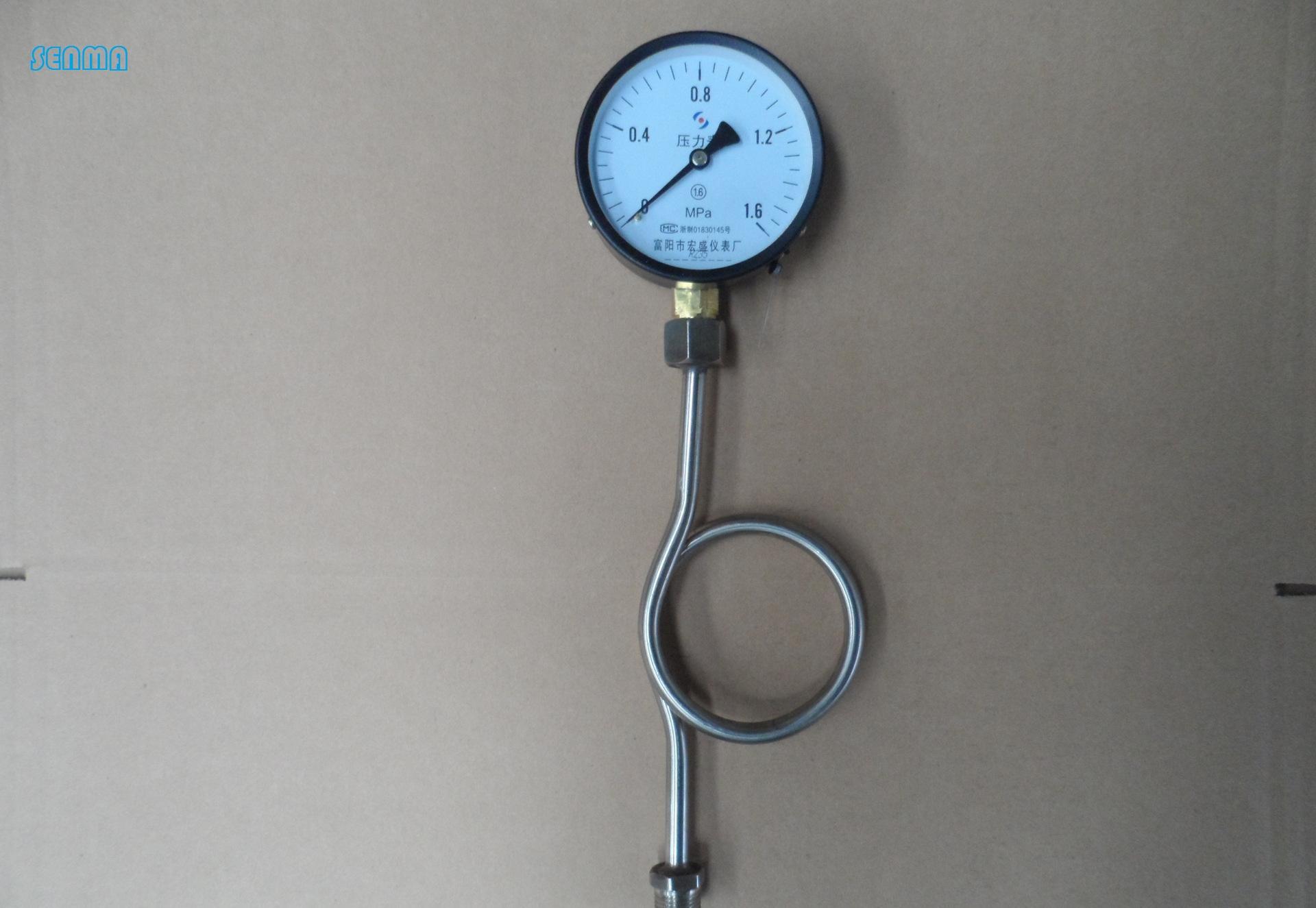 不锈钢压力表弯-郑州森玛自控阀门有限公司