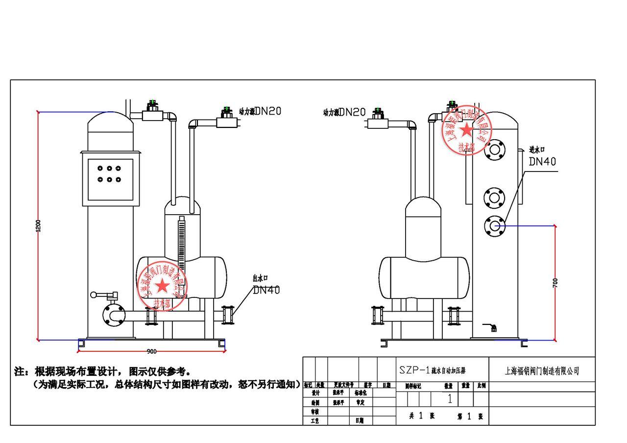 szp疏水自动加压器工作状态