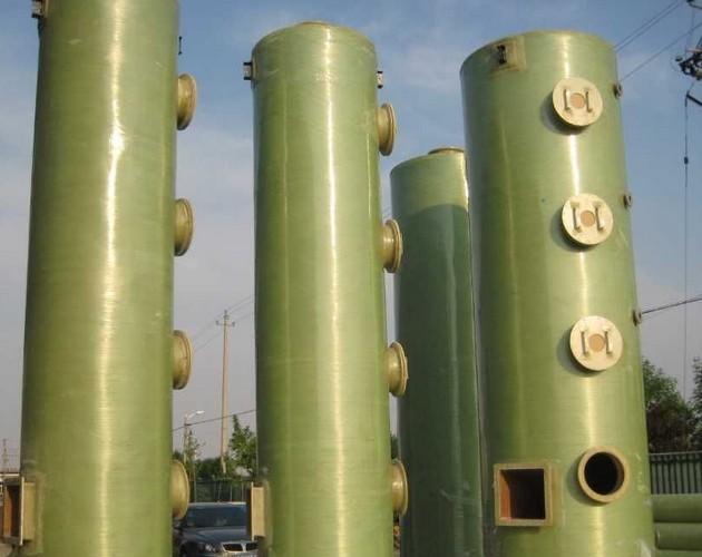 热电厂脱硫塔的工作原理