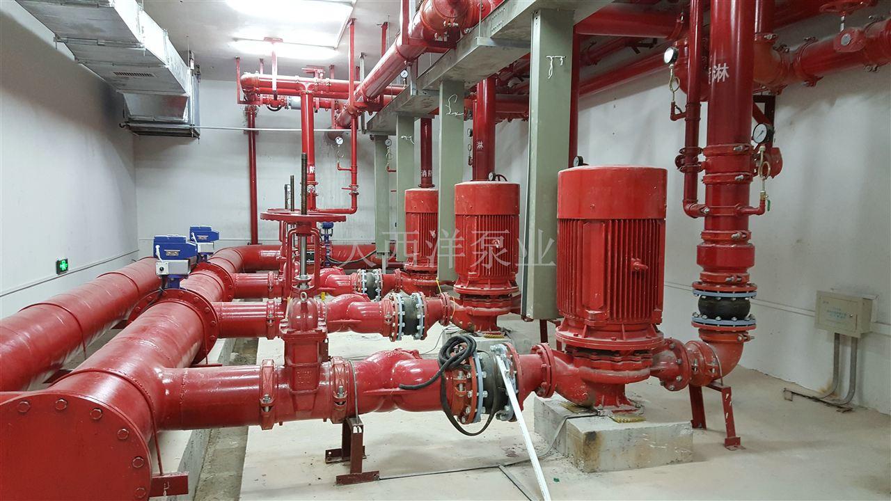 另又规定:消防稳压泵的关闭和开启应由压力联动装置