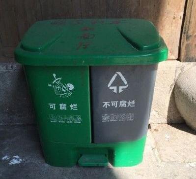 杭州市其他垃圾桶颜色