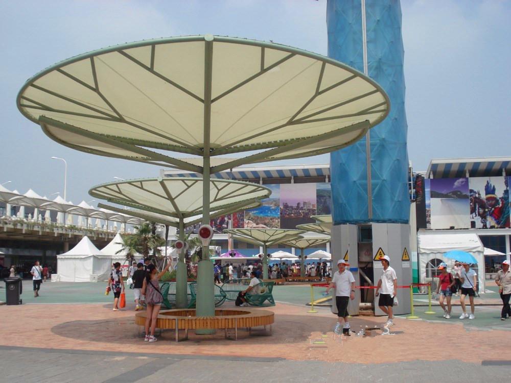 公园膜伞膜结构遮阳棚jy-100ms