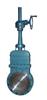 DMZ573X伞齿轮暗杆刀形闸阀